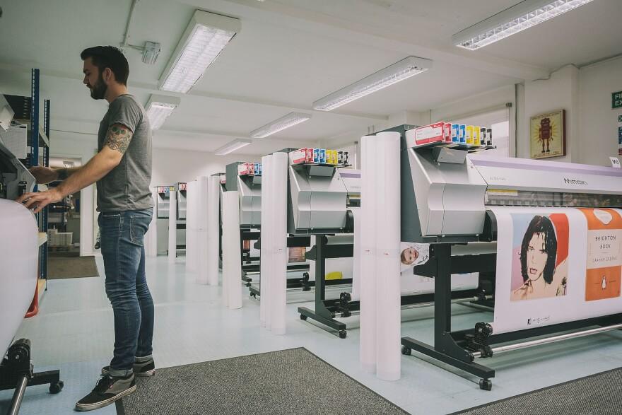 printing studio