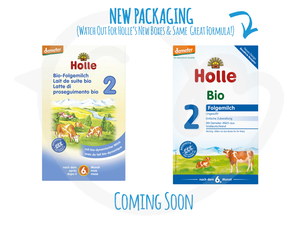 Holle Stage 2 Organic Baby Follow On Formula 600g 6
