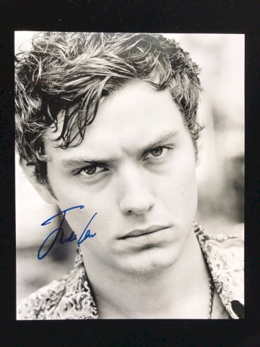 Jude Law Autograph - Hand Signed 8x10 Photo - Authentic