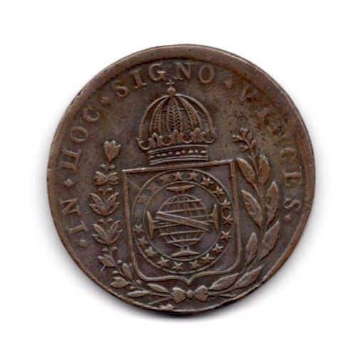 BRAZIL 1828 R 80 Reis