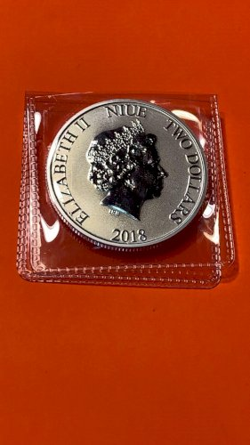 1 OZ STAR WARS STORMTROOPER 2018 QUEEN ELIZABETH II TWO DOLLARS
