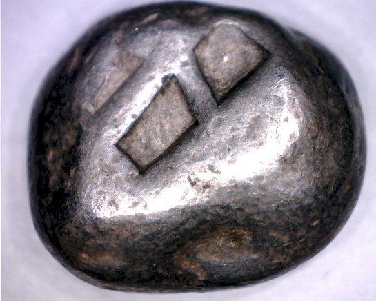 c.500-480BC Ancient Illyria & Central Greece AR Hemidrachm SGC-1602var Turtle