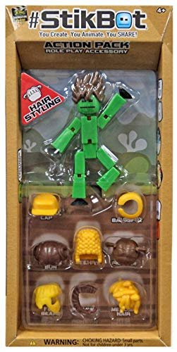 Stikbot Action Pack Series 2 Hair Styling