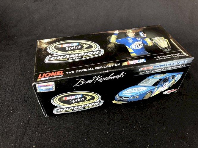 #2 Brad Keselowski 1/24 - 2012 Miller Lite Sprint Cup Champion - Nascar Lionel