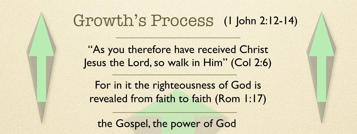 Growth's Progress: Spiritual growth traces the development of faith