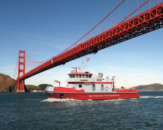 SFFD -- Fireboat Ride for up to 9 guests! - Little Bear