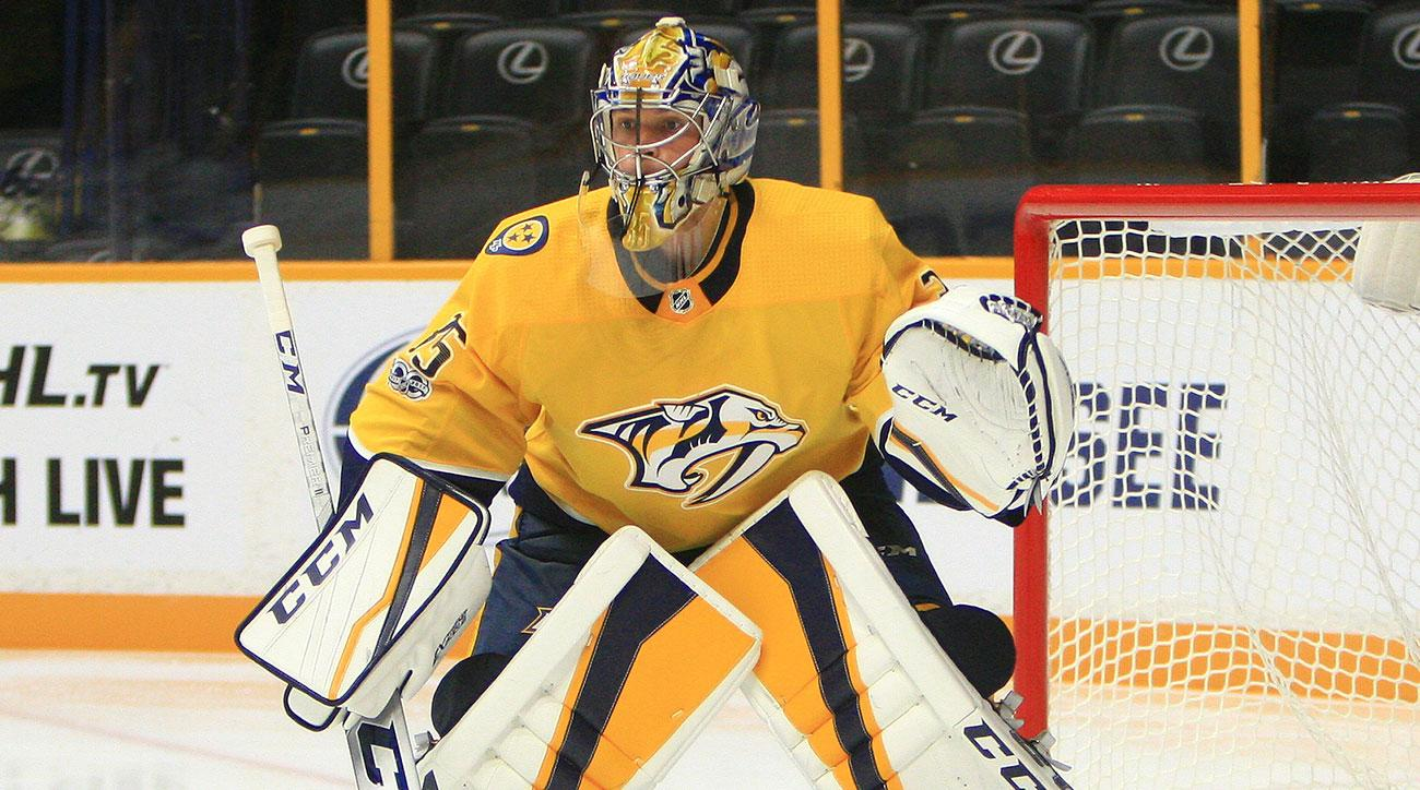 best sneakers 24468 f130f Autographed Pekka Rinne All-Star Jersey - 2018 Overbrook ...