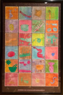 Ms Whitcomb S 3rd Grade Class Collaborative Art Project Parents