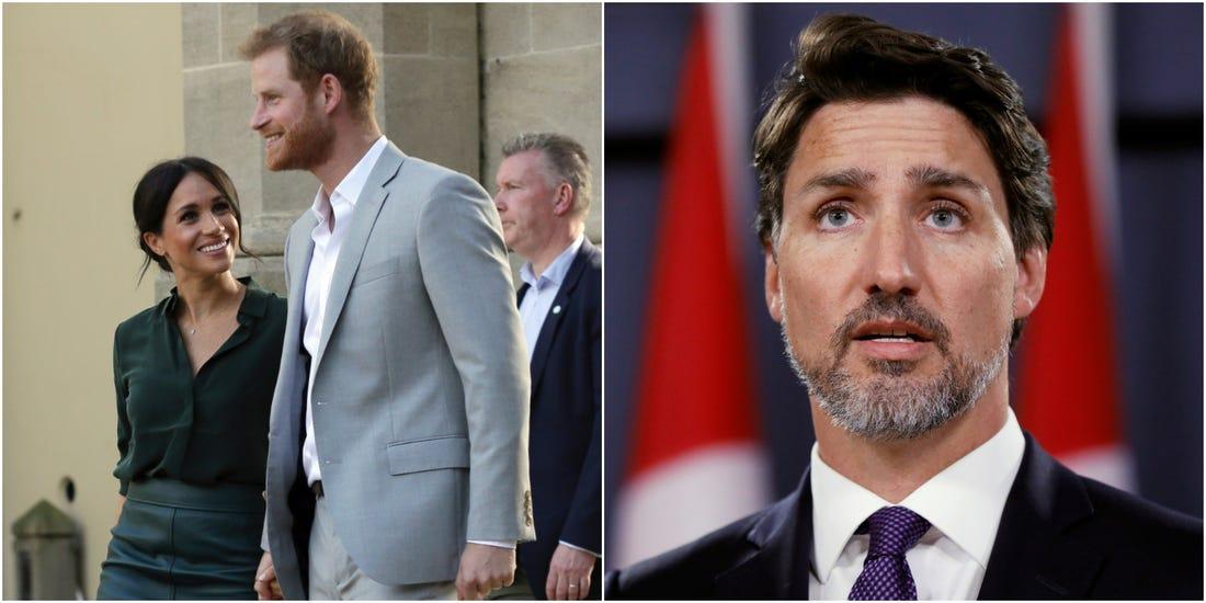 Une pétition de 80 mille noms pour que les Canadiens ne paient pas pour Meghan et Harry