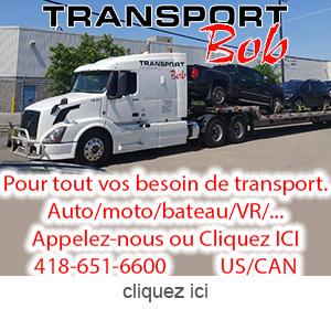 Publicite pour Transport Bob