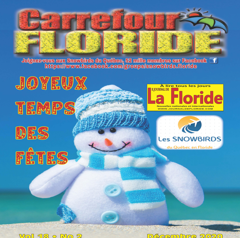 MAGAZINE CARREFOUR FLORIDE À LIRE CE MOIS-CI ÉDITION DU MOIS DE DÉCEMBRE 2020 (64 PAGES)
