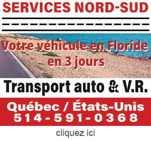 Publicite pour transport automobile