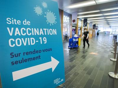 Le Québec va intensifier la vaccination dans la région de Montréal car la peur des variantes grandit