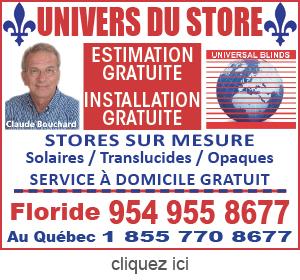 Publicite pour l'Univers du Store