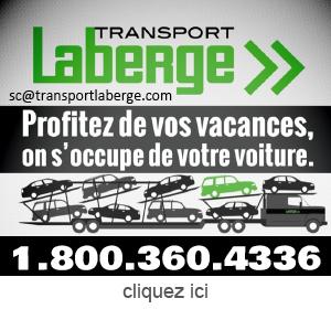 Publicite pour Transport Laberge