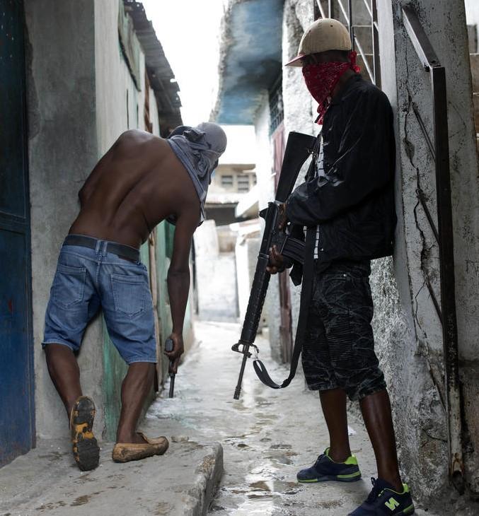 ALLO HAÏTI ! Voici le nouveau gouvernement haïtien des Gangs de rue qui se divisent le territoire !