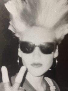 My punk phase aged 12