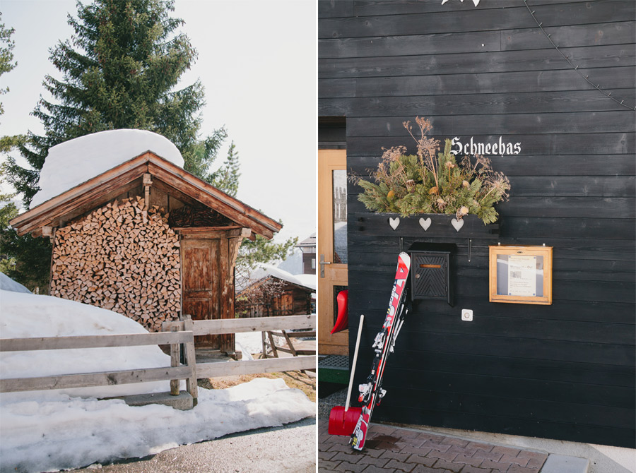 skis-and-wooden-cottage