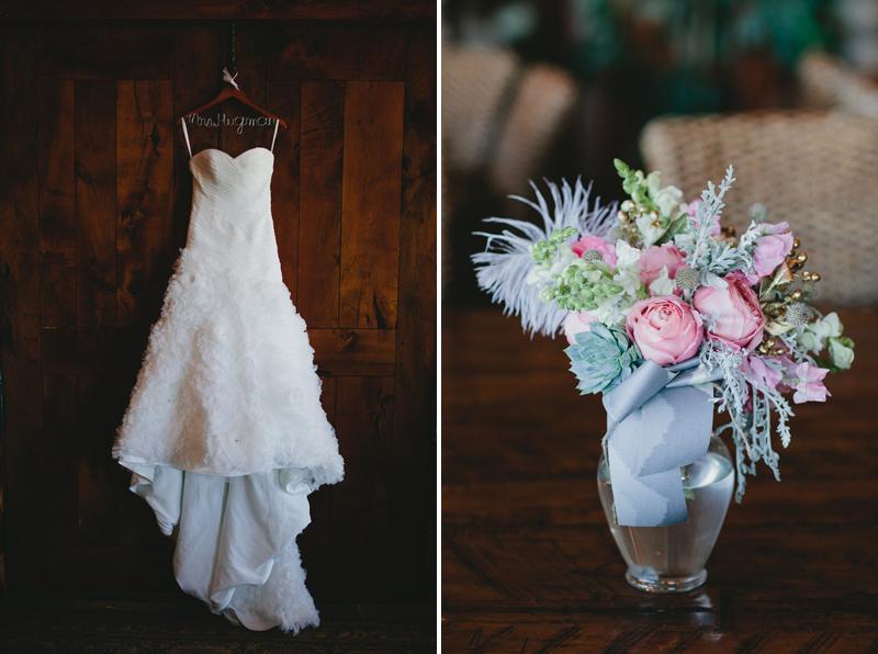bride-bouquet-bride-dress