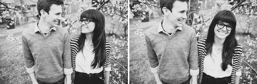 hipster engagement photographers