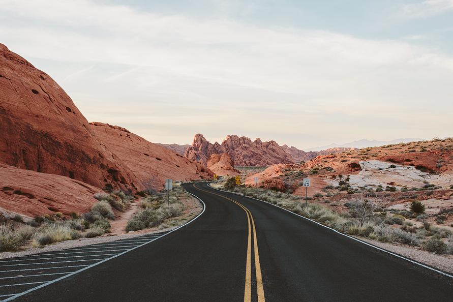 road through red rocks las vegas