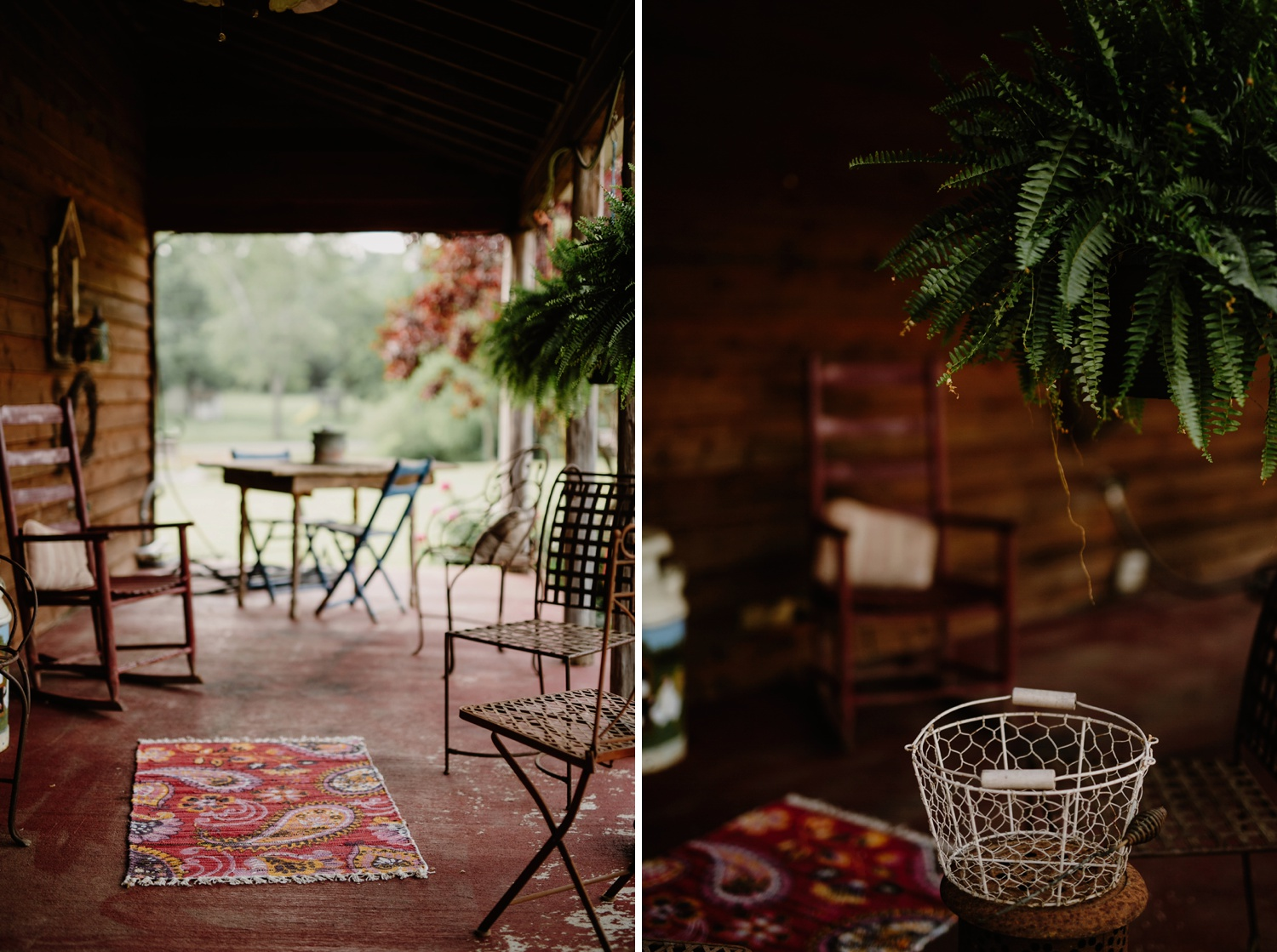 front porch at madison creek farms wedding venue nashville tennessee