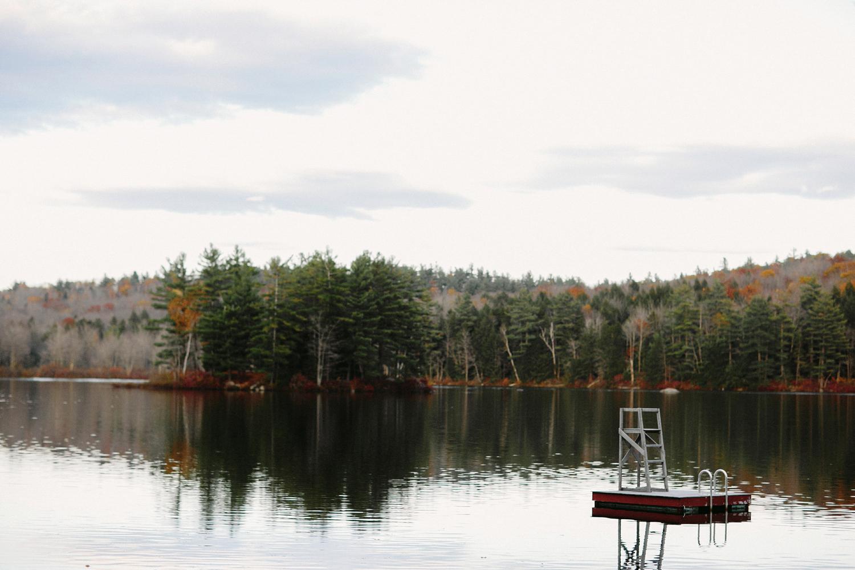lake-raft-swimming