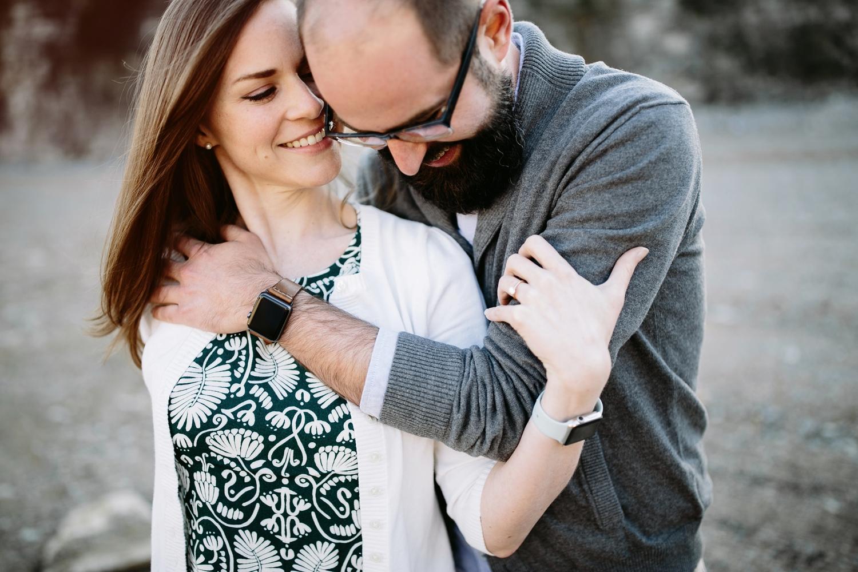 couple wearing apple watch