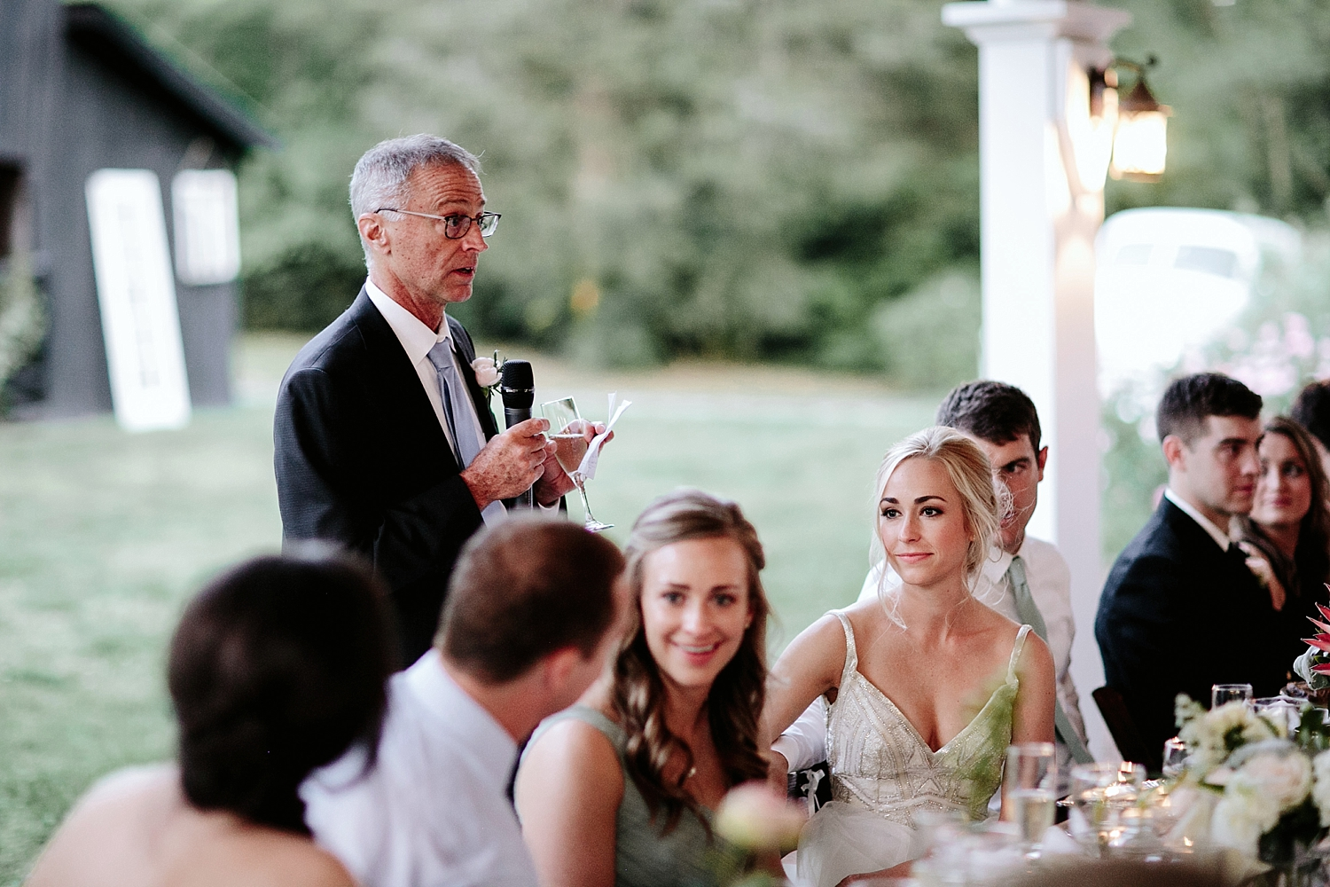 father of the bride reading toast speech