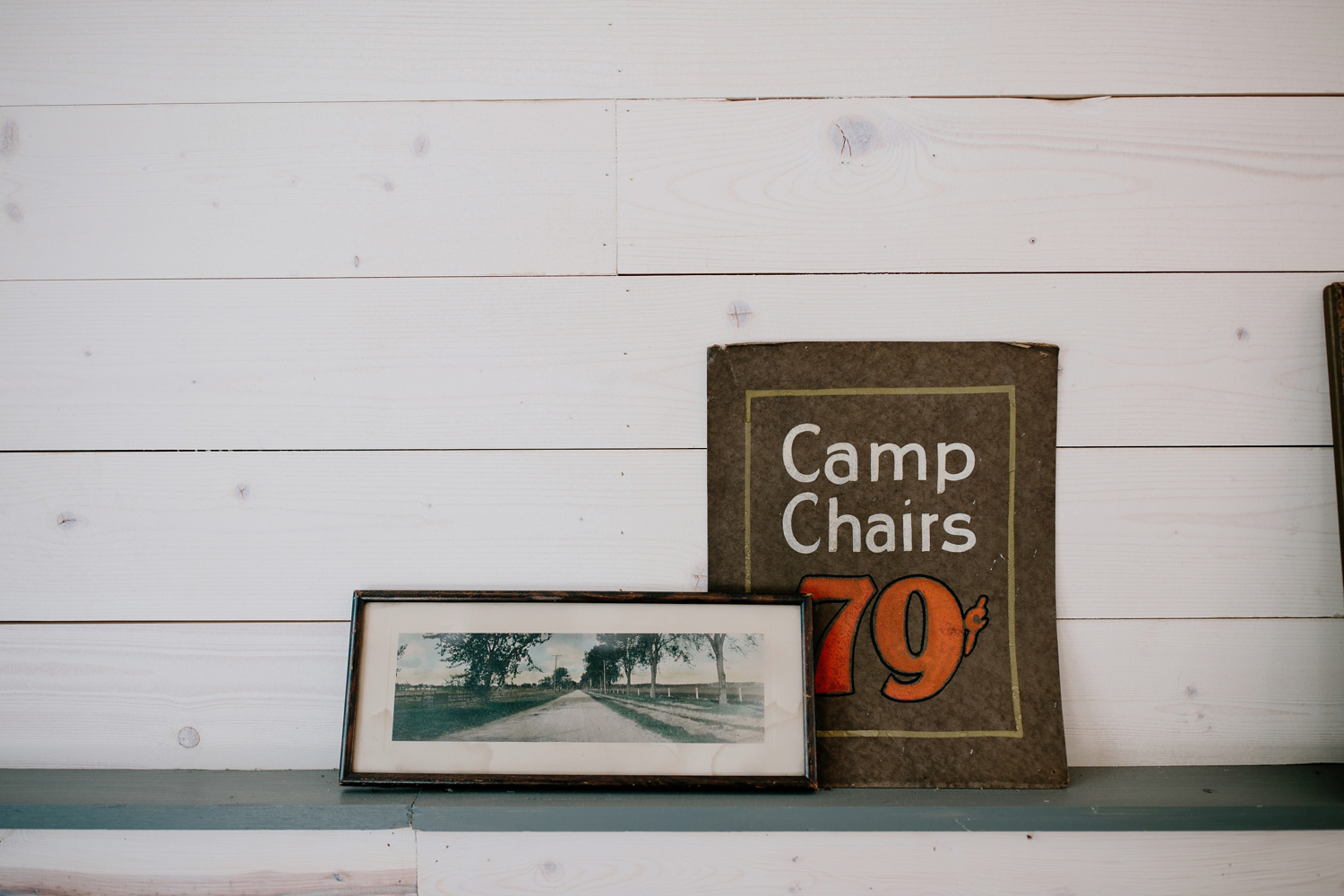 camp chairs poster