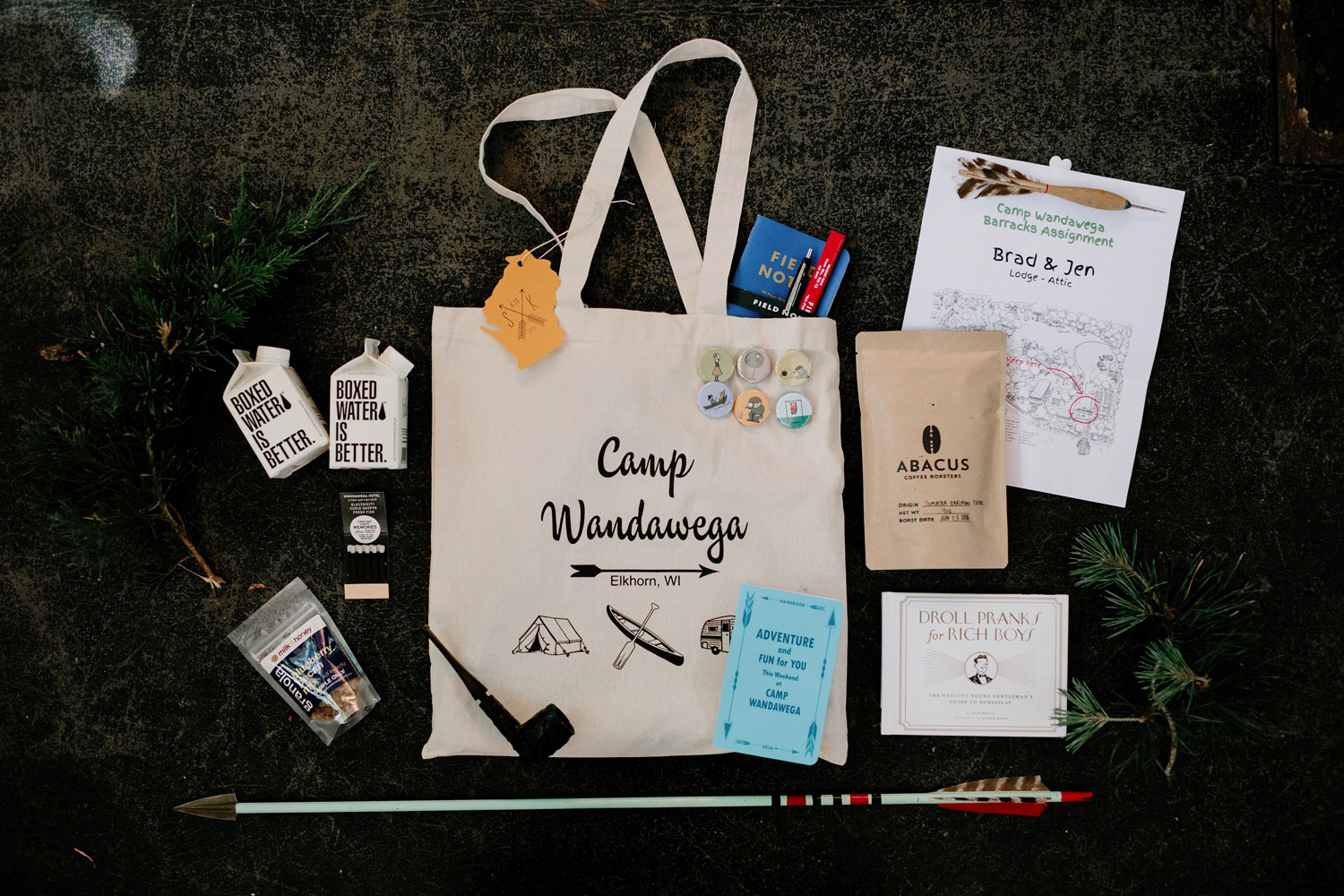 wedding welcome bag for guests