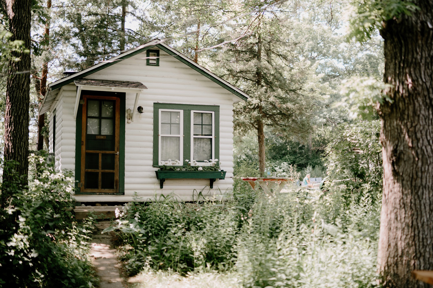 cute little camp cottage