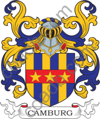 Camburg Family Crest, Coat of Arms and Name History