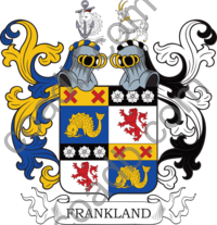 Franklin Family Crest, Coat of Arms and Name History