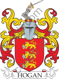 a6909253c09 Hogan Family Crest, Coat of Arms and Name History