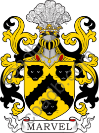 Marvel Family Crest, Coat of Arms and Name History
