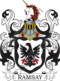 Ramsey Family Crest, Coat of Arms and Name History