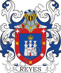 Reyes Family Crest Meaning