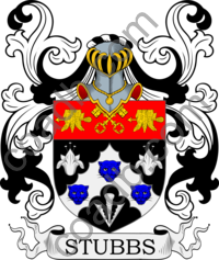 Stubbs Family Crest, Coat of Arms and Name History