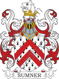 Sumner Family Crest, Coat of Arms and Name History