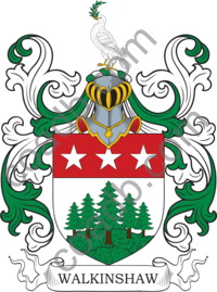 Walkinshaw Family Crest, Coat of Arms and Name History