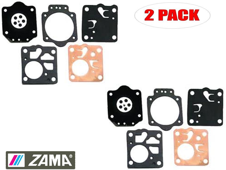 Carburetors & Parts Zama 2 Pack Gasket & Diaphragm Kits # GND-35 ...