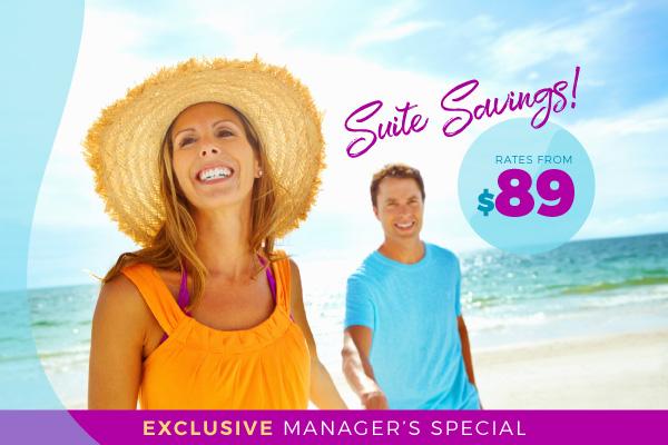 Oceanfront Suite Savings!