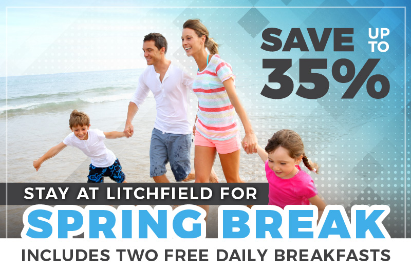 Spring Break Sale  35% OFF + 2 Free Breakfast Daily