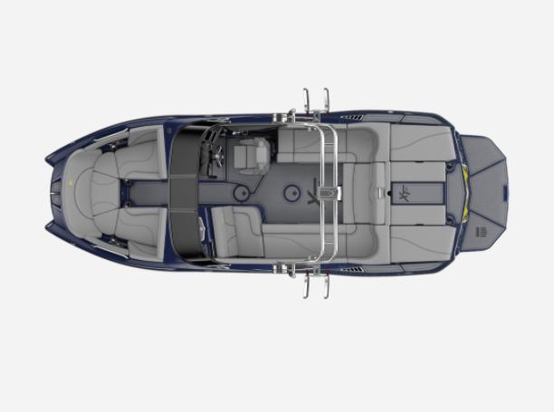 2021 MasterCraft XT22 - W/NAVY FLAKE Image 2