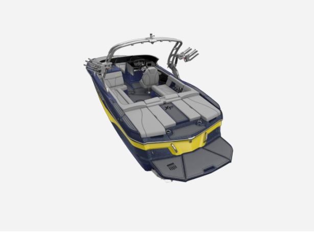 2021 MasterCraft XT22 - W/NAVY FLAKE Image 3