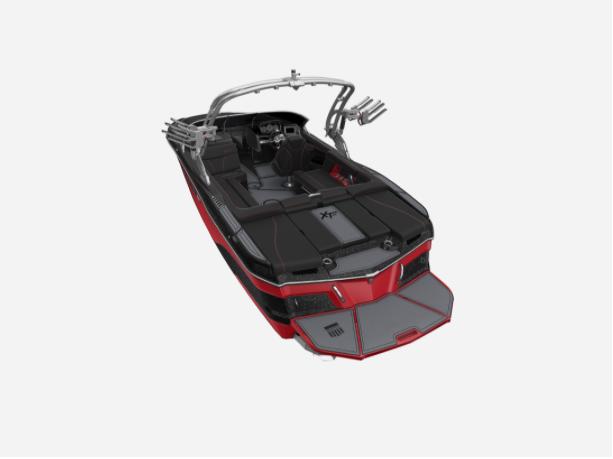 2021 MasterCraft XT22 - W/BLACK MICA METAL FLAKE Image 3