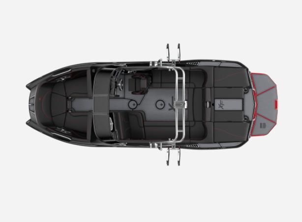 2021 MasterCraft XT22 - W/BLACK MICA METAL FLAKE Image 2