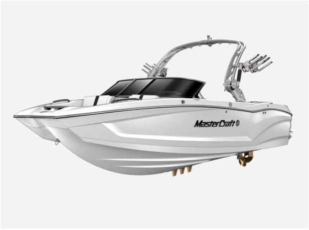 2021 MasterCraft X22 - W/WHITE Image 1