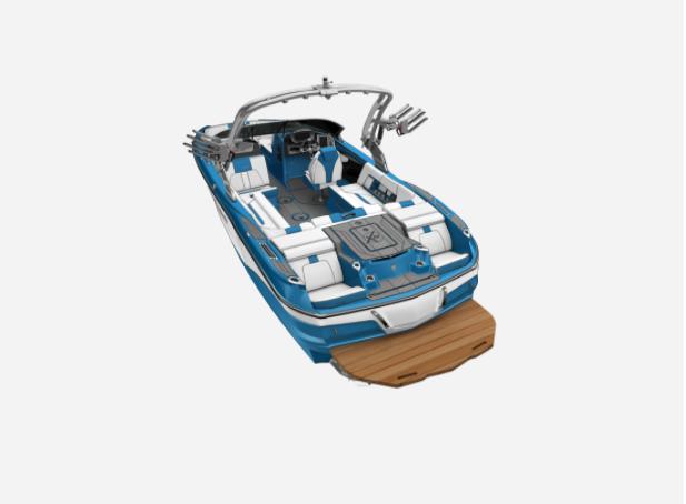 2021 MasterCraft X22 - W/JET STREAM BLUE Image 3